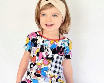 Turban Headband, Beige Headwrap, Girl Head wrap, Head wrap for Girls, Toddler Headband, Baby Headband, Baby Shower Headband