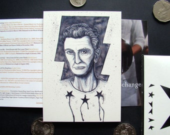 DONATE to Cancer Research UK: David Bowie 'Blackstar' art print in support of charity