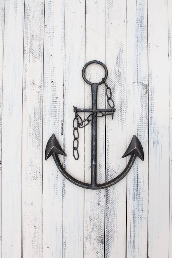 Anchor Decor Office Decor Beach Decor Anchor Wall Art