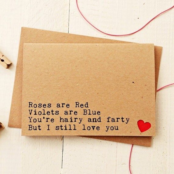 Funny Love Card Funny Valentine Card Valentines Day Card