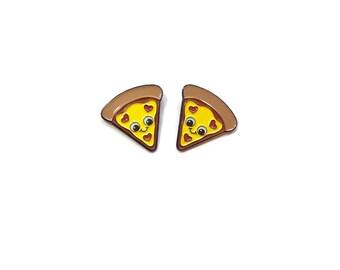 Pizza Pin - Pizza Enamel Pin - Pizza Lovers Gifts - Pizza Lapel Pin - Cute Pizza Pin - Pizza Gifts - BFF Gifts - Kawaii Pins