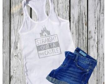 Disney Shirts // Cinderella Shirt // Straight Outta the Castle Cinderella Shirt // Princess Shirt