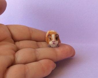 Dollhouse Miniature 1 12 scale Guinea Pig Hand made by Artist