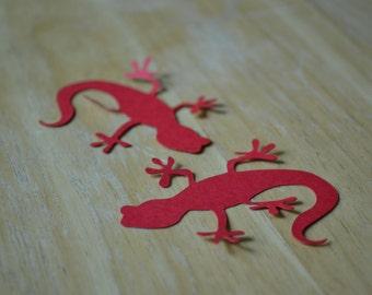 Salamander Confetti/Salamander Table Scatter/Gecko/Salamander/Table Scatter/Confetti/Lizard/Lizard Confetti/Lizard Table Scatter/Reptile