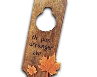 Door hangers /Accroche-porte