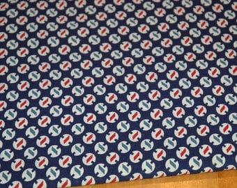 Antique Vintage Feed Sack Fabric, Cotton   #307