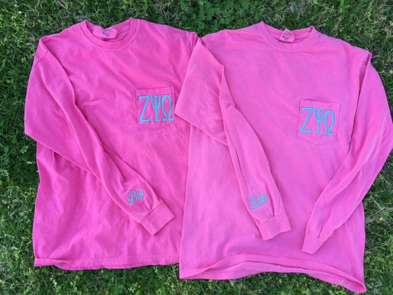 alpha sigma alpha sorority shirts big  little by sewfancyembroidery