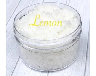 Lemon Sugar Lip Scrub, lip scrub, sugar scrub, exfoliate, lemon