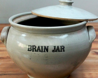 Apothecary Brain Jars SOLD!