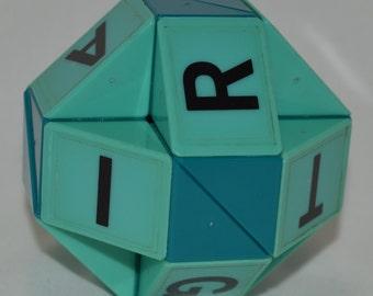 "Rubik's Snake ""straightline"" version 1980's vintage Rubiks puzzle"