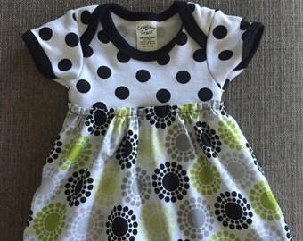 Newborn onesie dress