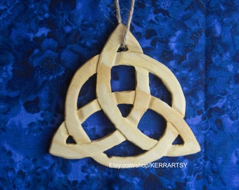 Carved Trinity Celtic Knot