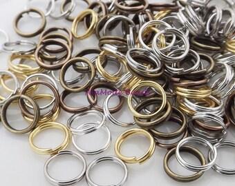 7MM Split Rings Mix (150)