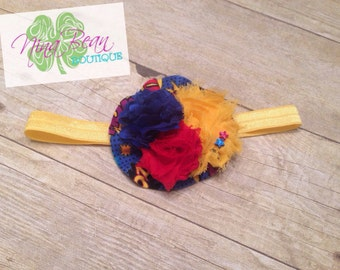 Superman Inspired Headband--Toddler Size--Ready to ship!