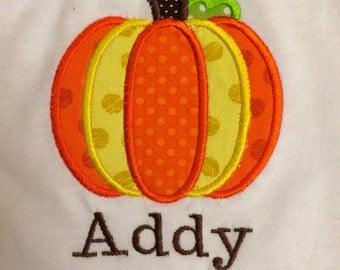 INFANT Fall Pumpkin Shirt
