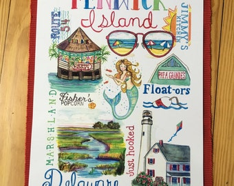 Fenwick Island Print