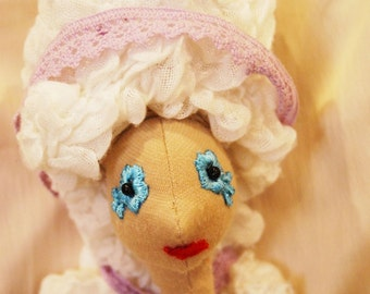 Rococo hair (for the doll)