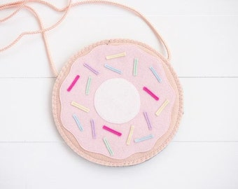 Donut kids purse with strap