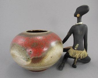 Vintage vase Ruscha / 820 2 | West German Pottery | 60s