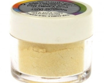 Rainbow Dust Pearl Vanilla Mist, The Edible Silk Range, Luster Dust