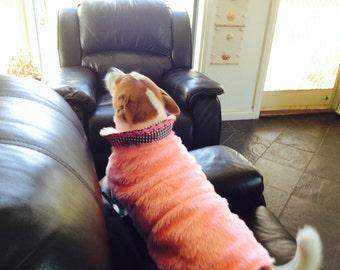 Dog coats made to order