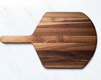 Pizza Peel, Pizza Board, Kitchen Utensils, Food Safe, Handcrafted, Walnut Wood, Handmade, Made in Canada
