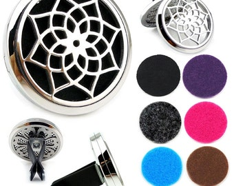CAR DIFFUSER JEWELLERY- Flower of Life
