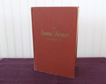 The Fannie Farmer Cookbook, Vintage Cookbook