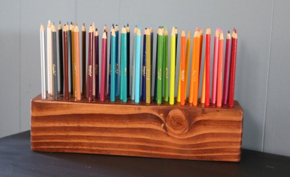 color pencil holder. Black Bedroom Furniture Sets. Home Design Ideas