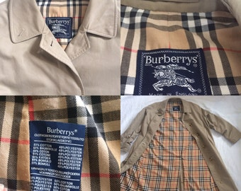 Burberry trench coat size S or 36-38 eur size margiela