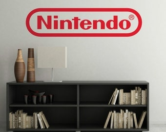 Nintendo Wall Decal Etsy : nintendo wall decal - www.pureclipart.com