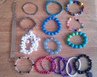 Destash Bracelet Lot of 17 (Lot B)
