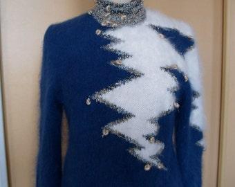 angora sweater top range hand made