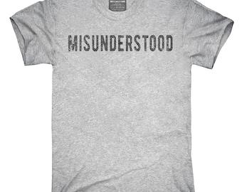 Misunderstood T-Shirt, Hoodie, Tank Top, Gifts