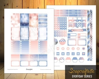 2016 Colors of the Year Printable Planner Stickers for the Classic MAMBI Happy Planner
