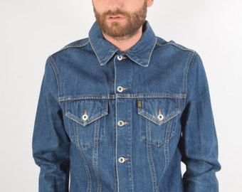 Vintage Replay Denim Jacket Size L (1378)