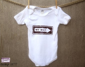 Hipster Baby Boy Clothes, Funny Baby Clothes, Baby girl clothes, Newborn Baby Clothes, Hipster Baby, Baby clothes,I did IT my way, Baby girl
