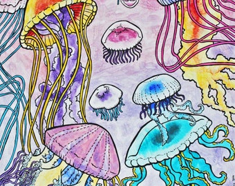 Jellyfish, Art Print