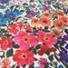Vintage 70s fabric 70cm x 1, 50m: flower power color / fabric coupon