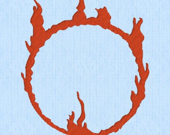 The Darksign - Dark Souls Embroidery Design