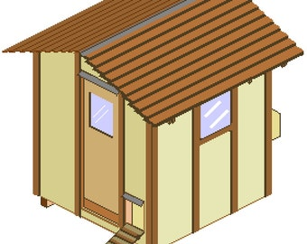 Chicken coop - woodworking plans