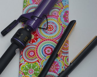 Colorful Heat Resistant Flat Iron Cover