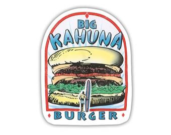 Big Kahuna Burger Sticker Pulp Fiction Movie