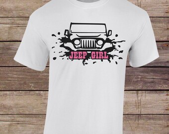 Jeep Shirt- Jeep Girl T Shirt- Jeep Splash Shirt- Jeep Tshirt- Jeep Girl Shirt- Jeep Off Road Shirt- Jeep Summer