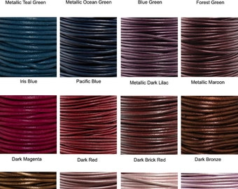 Additional Leather Cord Necklaces: Free Shipping