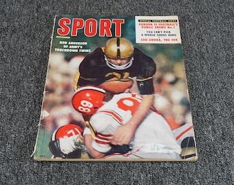 Vintage Sport Magazine C. 1958
