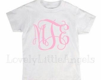 monogram initial shirt