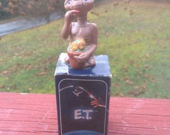 E.T. Figurine Series Flowers by Avon 1982-1984