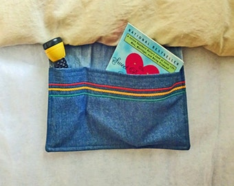 DENIM BEDSIDE POCKET