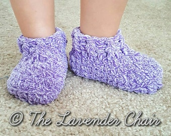 Little Cloud 9 Slippers Crochet Pattern *PDF DOWNLOAD ONLY* Instant Download